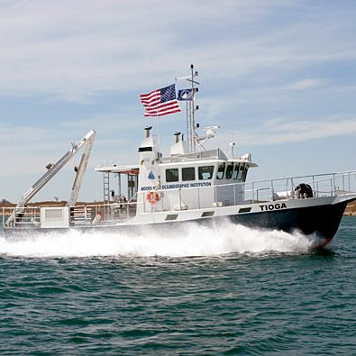 R/V Tioga, WHOI's coastal research vessel