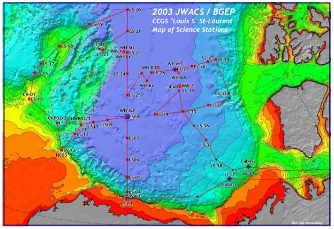 Joint Western Arctic Climate Study