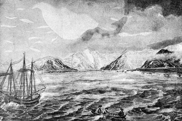 Matochkin Shar Strait