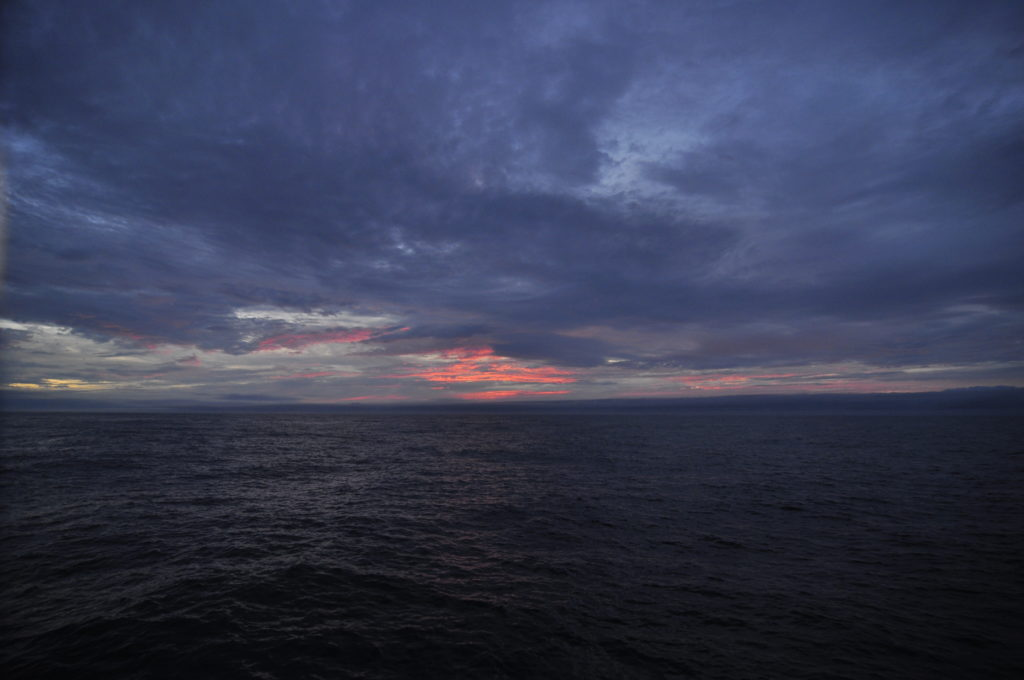 sunset at sea (J Lund photo credit)