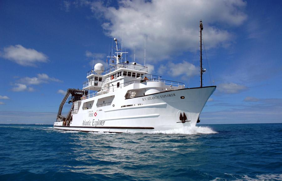 The R/V Atlantic Explorer.