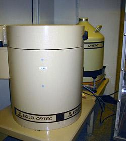 Ortec model well detector