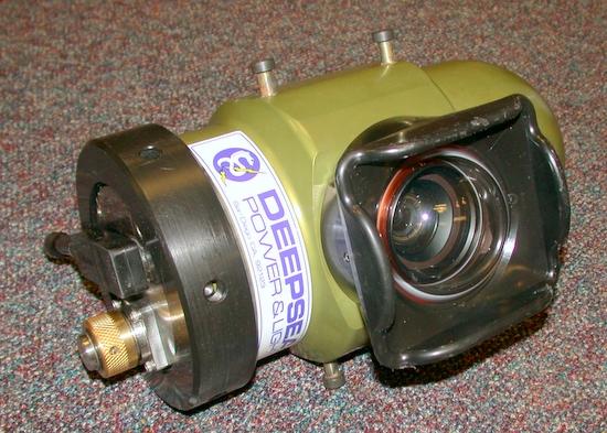 Deep Sea Power & Light (DSPL) camera housing