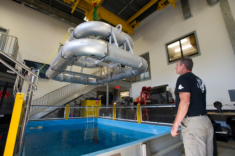 Salt Water Test Tank