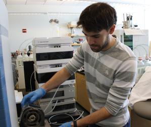 MIT/WHOI Joint Program student Rene Boiteau