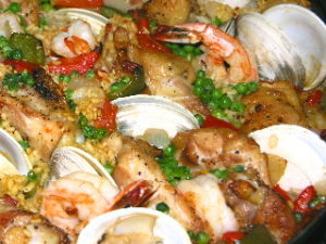 Grill-top Paella