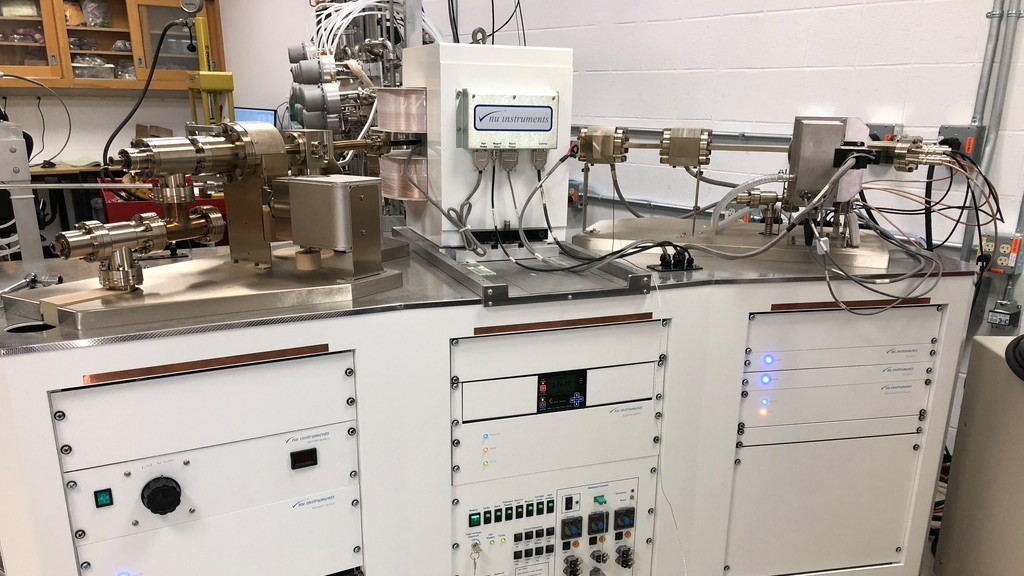 Nu Instruments multi-collector Noblesse HR mass spectrometer